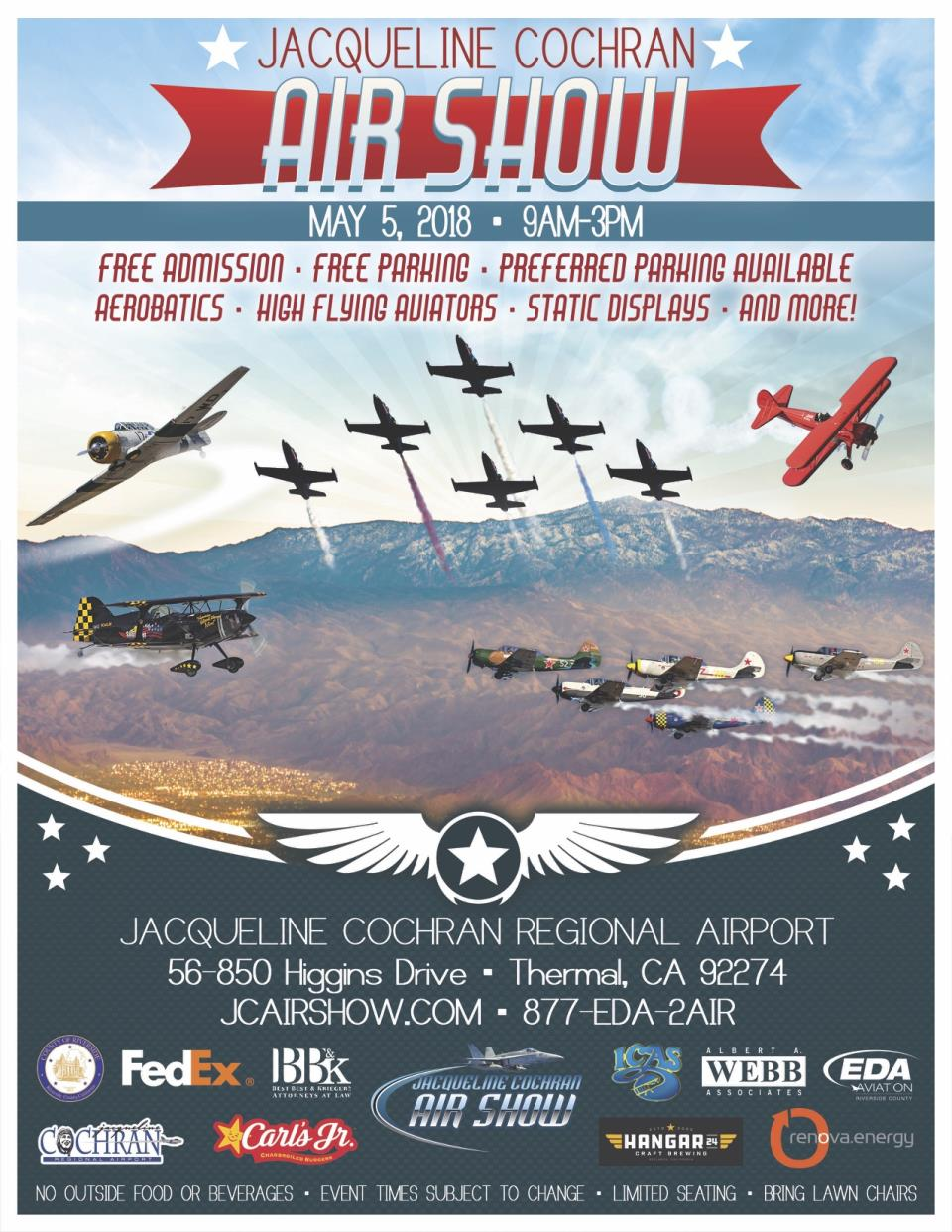 JCA Air Show Poster - Flyer_English