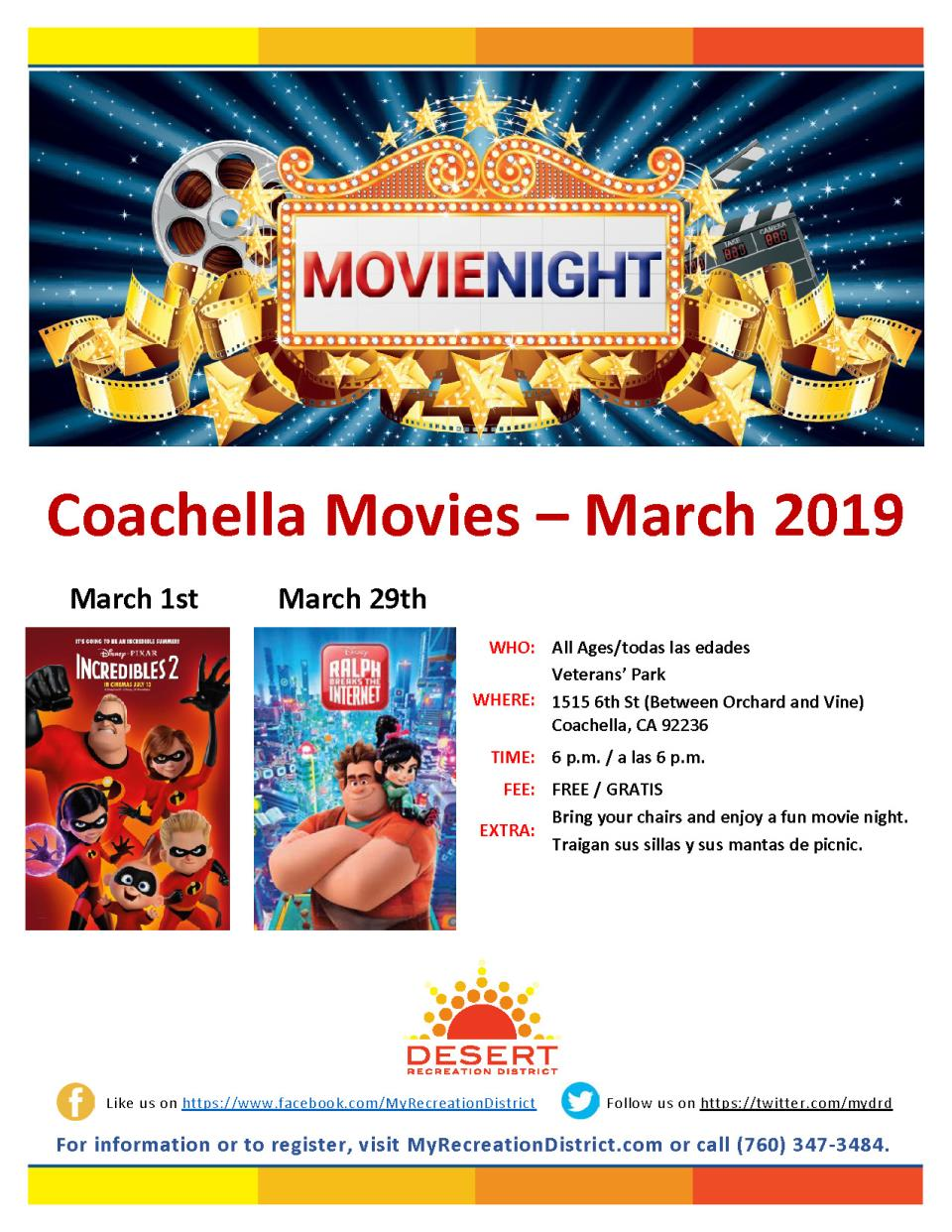 Coachella Movies March 2019 v3